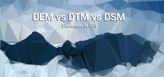 DSM, DEM, DTM Differences