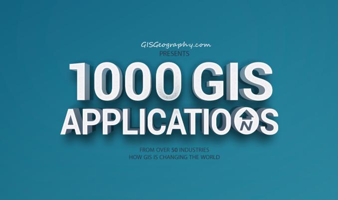 1000 GIS Applications