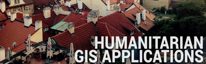 Humanitarian GIS Applications