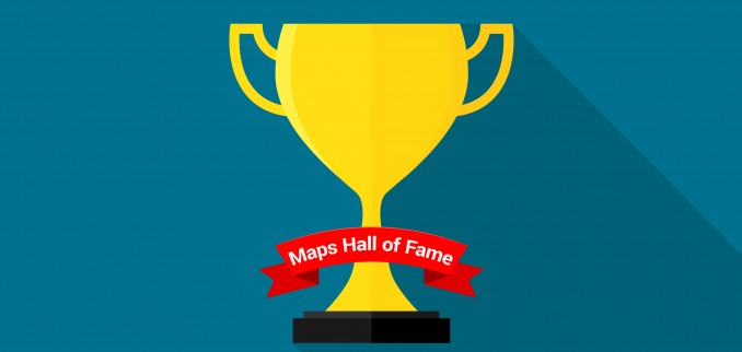 Maps Hall of Fame