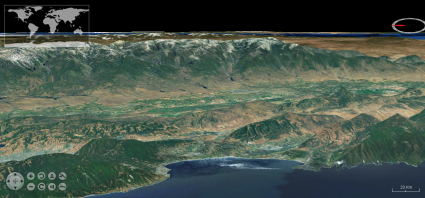 gvSIG Flat 3D View