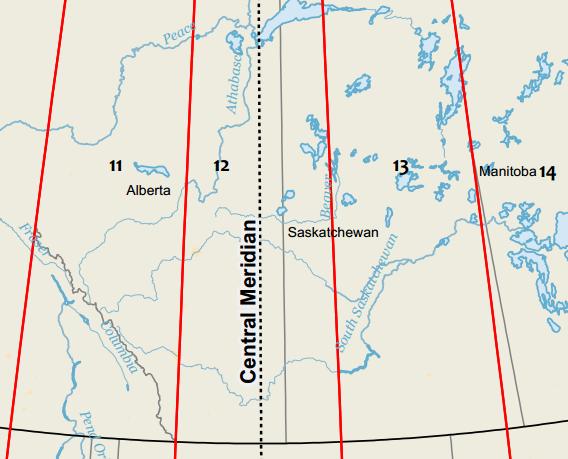 How Universal Transverse Mercator (UTM) Works - GIS Geography