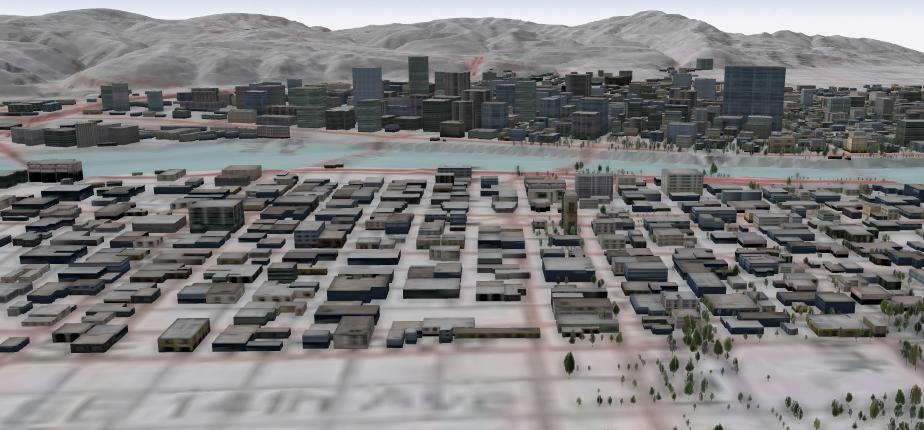 esri cityengine portland map