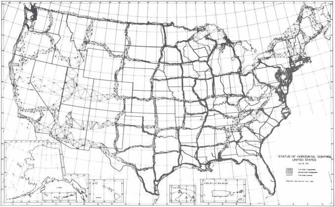 Horizontal Control Network 1931