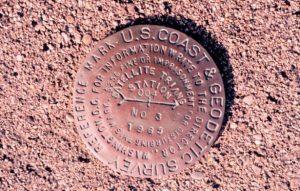 NOAA Brass Monument