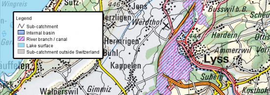 SwissTopo Map