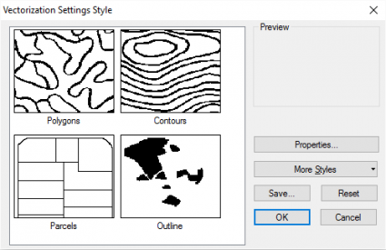 Vectorization Settings
