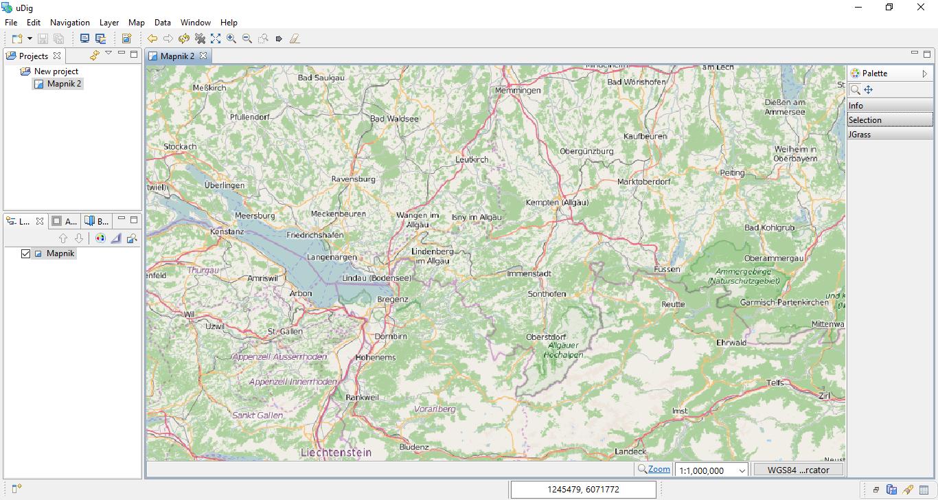 uDig - User-friendly Desktop Internet GIS - GIS Geography