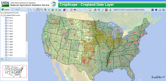 USDA Cropscape