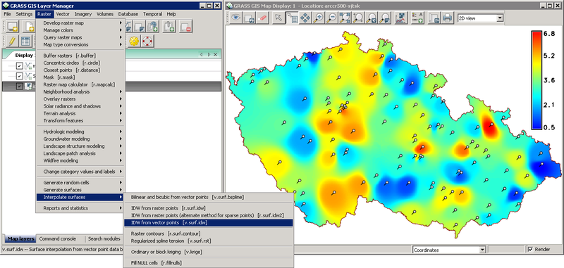 GRASS GIS - Geographic Resources Analysis Support System - GIS Geography