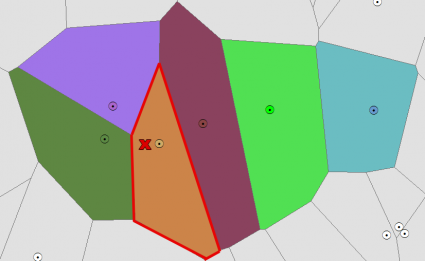 Voronoi Diagram Example 1