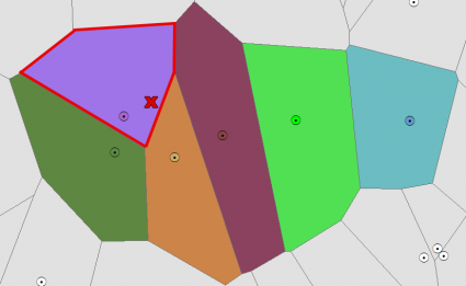 Voronoi Diagram Example 2