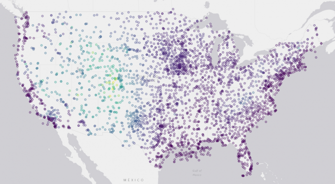 geosheets continental us weather stations