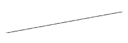 rasterized line