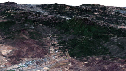 Collayomi Valley 3D