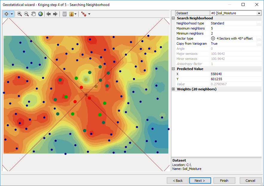 Kriging Interpolation - The Prediction Is Strong in this One - GIS