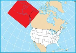 Alaska Map Extent