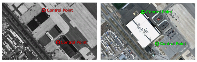 georeferencing control points