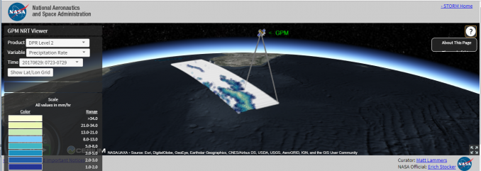 nasa gpm nrt viewer
