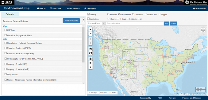 Usgs National Map Viewer How to Download USGS Topo Maps for Free   GIS Geography