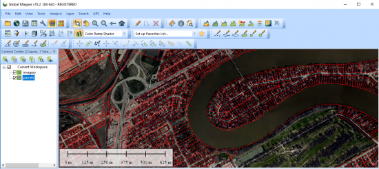 parcel fabric global mapper software