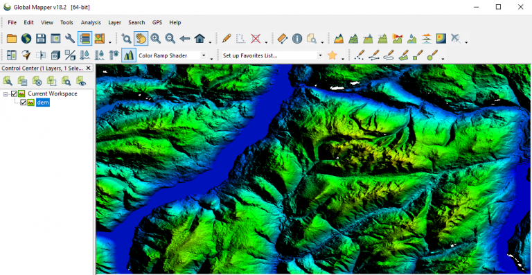 Global Mapper Software by Blue Marble (Review)
