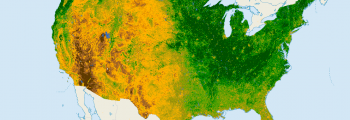 ndvi united states - normalized difference vegetation index