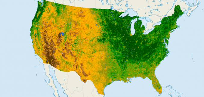 What is NDVI (Normalized Difference Vegetation Index)? - GIS Geography