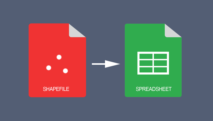How to Export a Shapefile Table to Excel Spreadsheet in