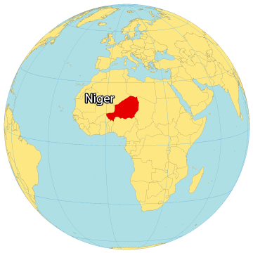 Niger World Map
