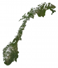 Norway Province Map