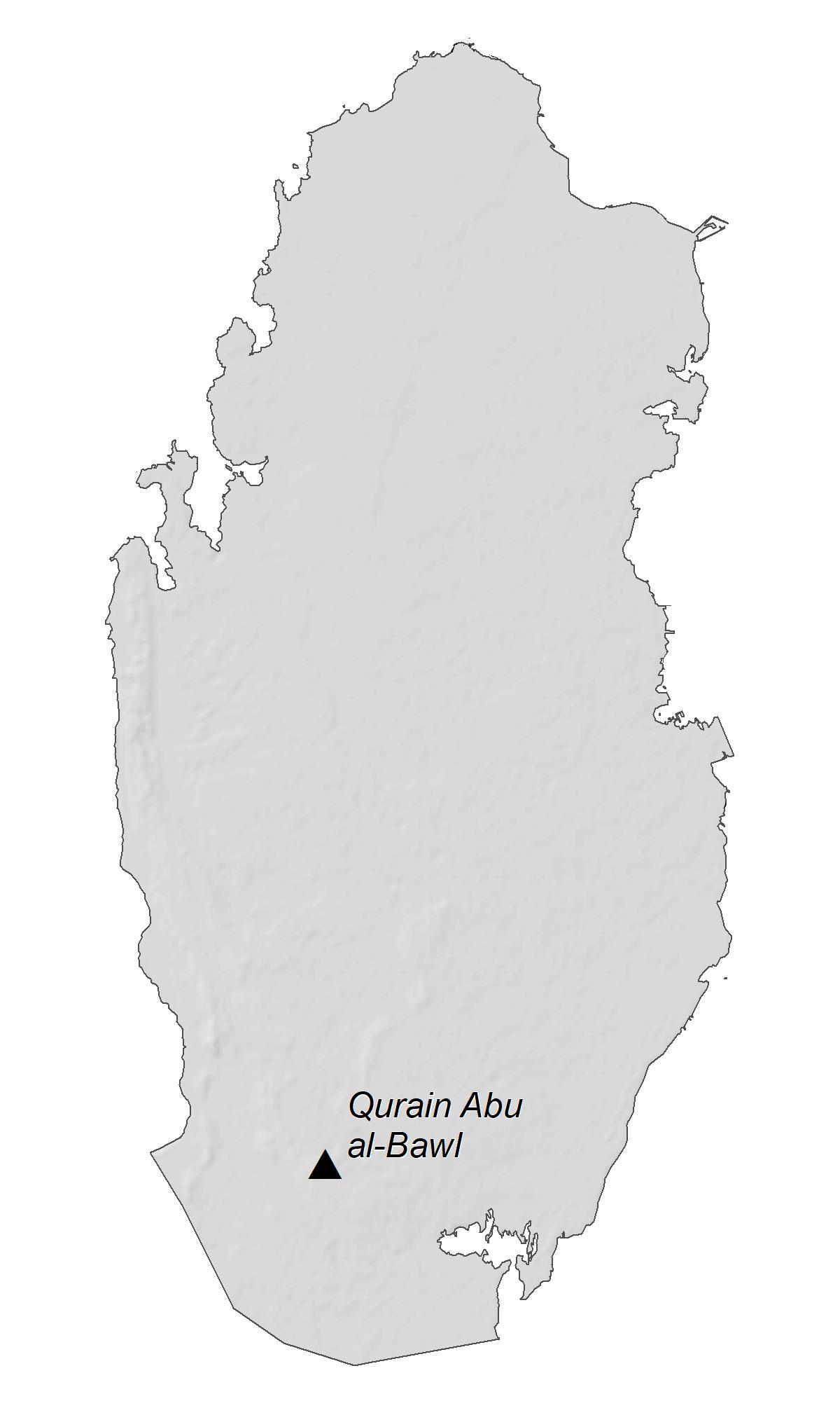 Qatar Elevation Map