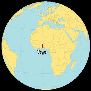 Togo World Map