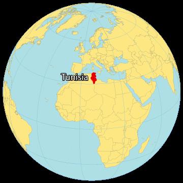 Tunisia World Map