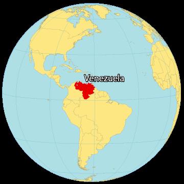 Venezuela World Map