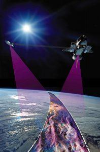 srtm satellite