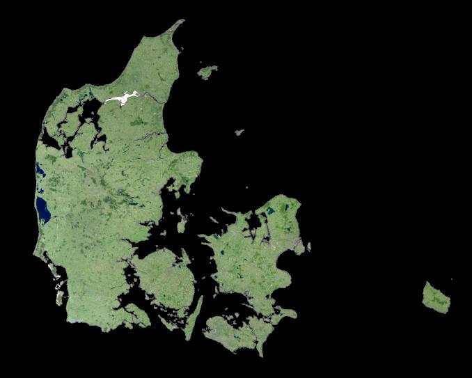 Denmark Satellite Map