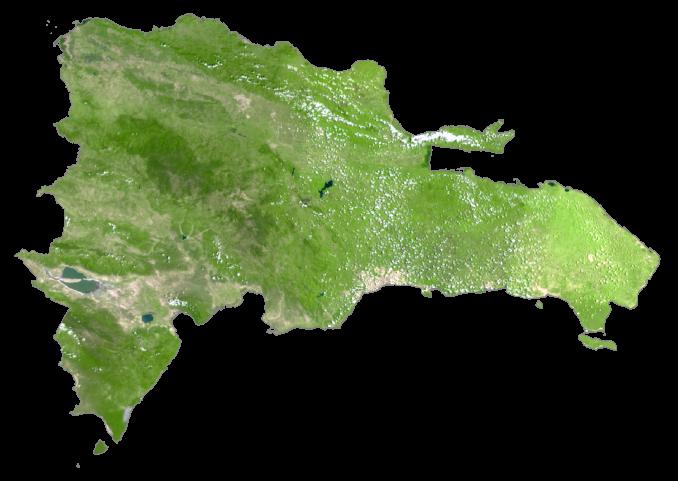 Dominican Republic Satellite Map