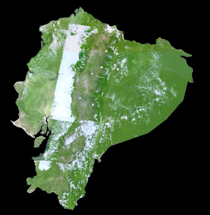 Ecuador Satellite Map