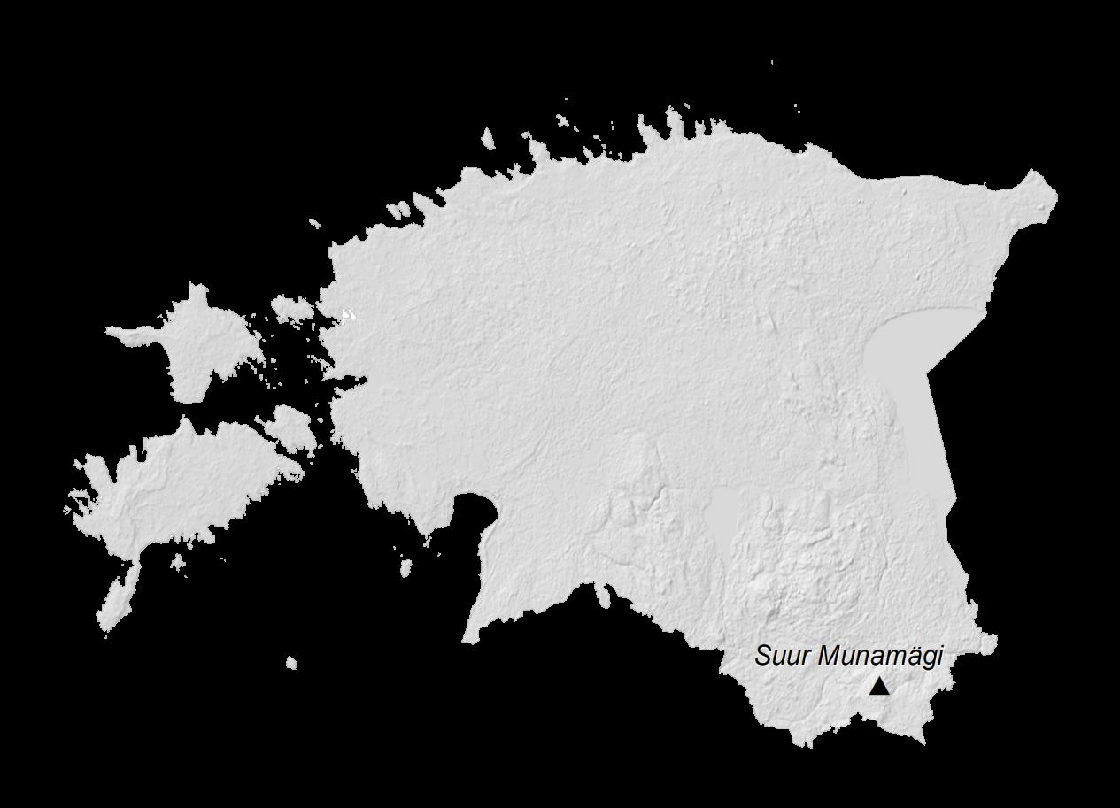 Estonia Elevation Map