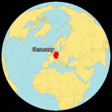 Germany World Map