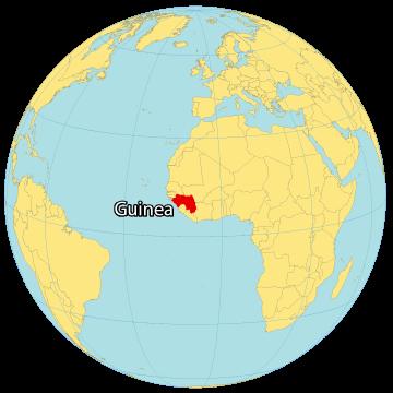 Guinea World Map