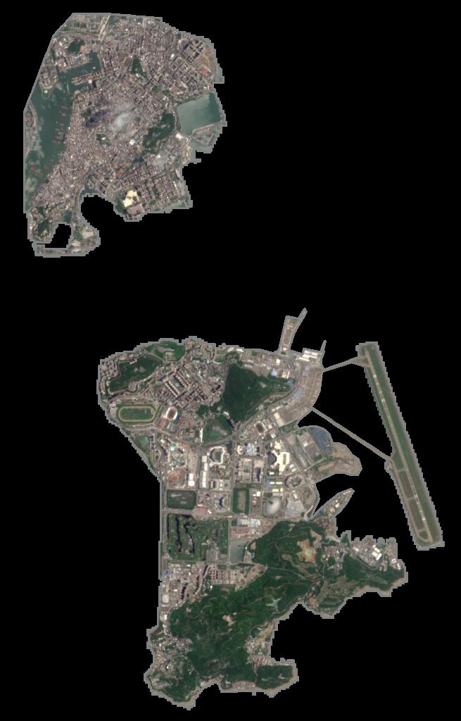Macau Satellite Map
