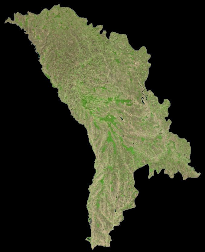 Moldova Satellite Map