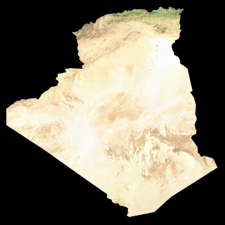 Algeria Satellite Map