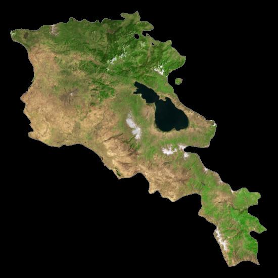 Armenia Satellite Map