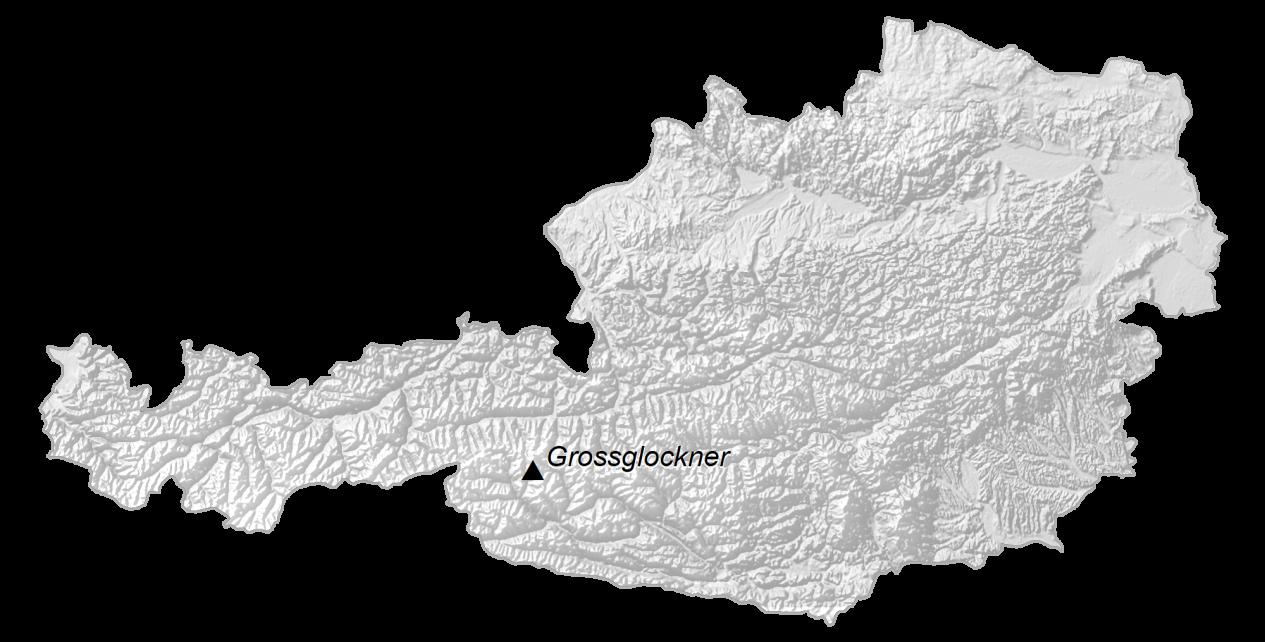 Austria Elevation Map