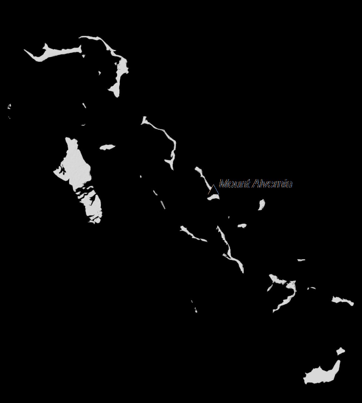 Bahamas Elevation Map
