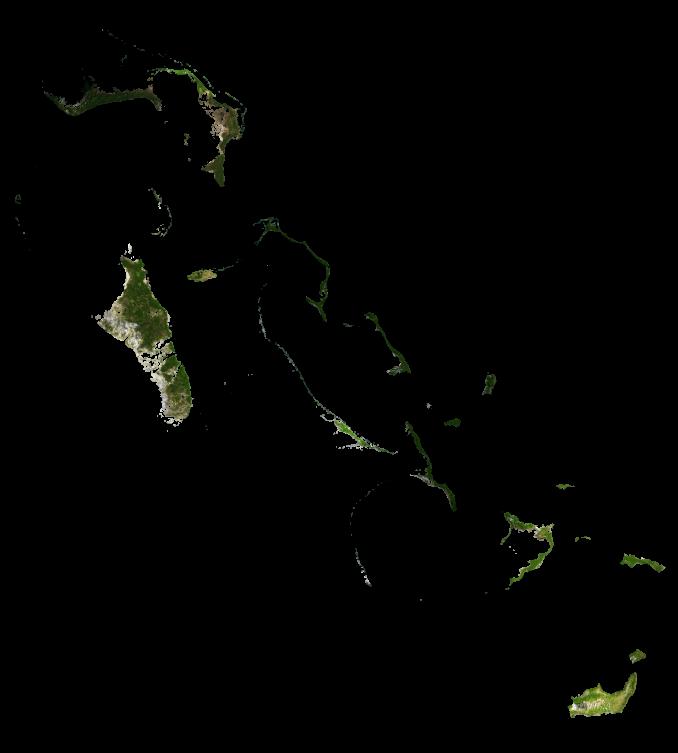 Bahamas Satellite Map