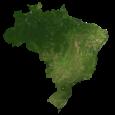 Brazil Satellite Map